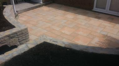 Patios Cotswold Buff Paving