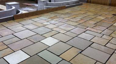 Patios - Honeydew Sandstone