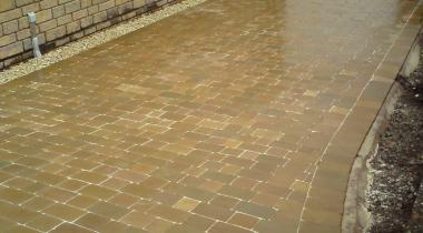 Driveways - Walnut Natural Stone