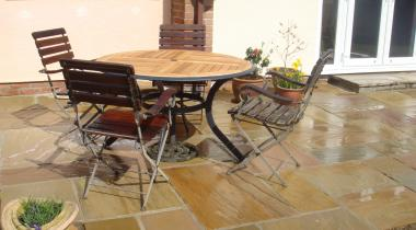 Patios - Autumn Brown Sandstone