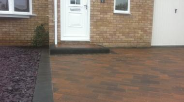 Driveways - Beta Burnt Oak